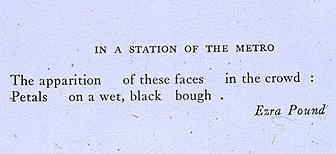 Poetry essay help (Ezra Pound)?